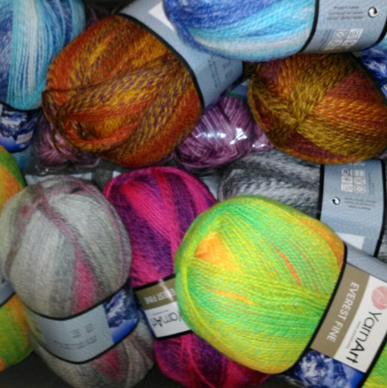 YarnArt Everest Fine 70% Acrylic / 30% Wool