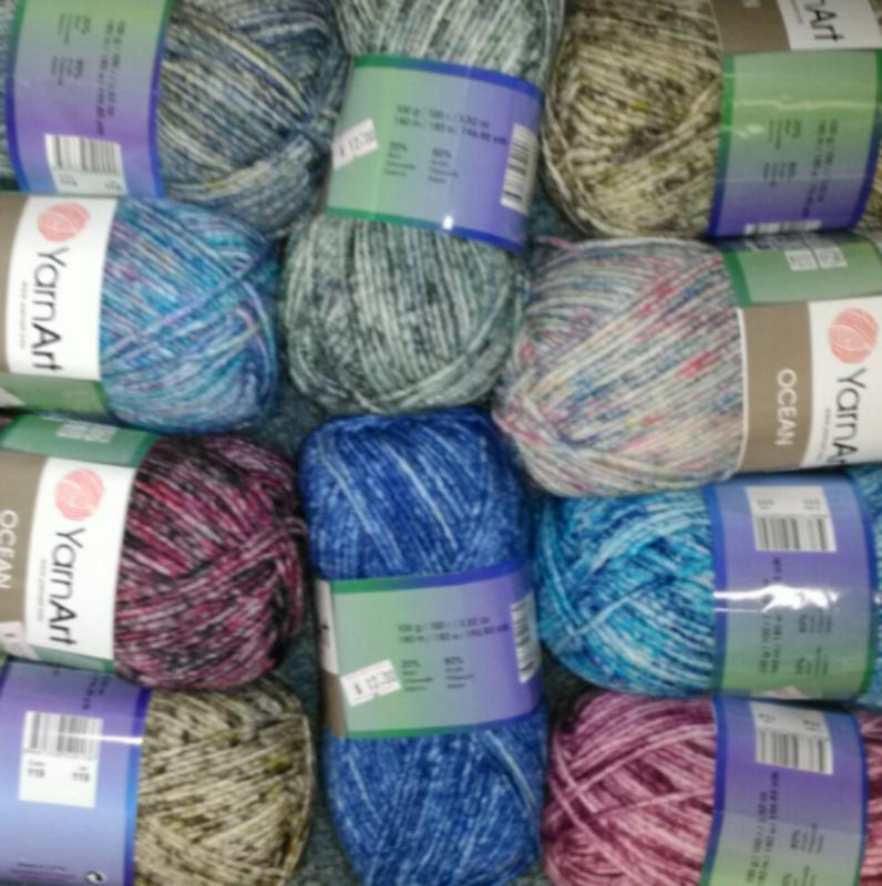 YarnArt Ocean 80% Acrylic / 20% Wool