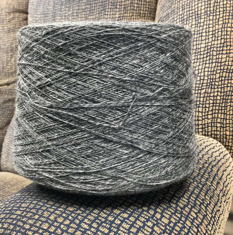 Light Grey Nylon Wool Yarn