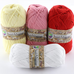 Countrywide Yarns Soft Cotton 8ply.