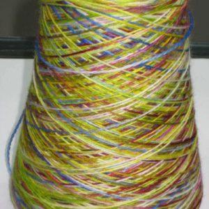 Sock Yarn Cone Merino 80/20 Green Tones 500g