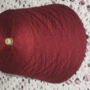 Merino Superwash Laceweight 80/20 Merino Nylon Cone 1 Kilo- Red