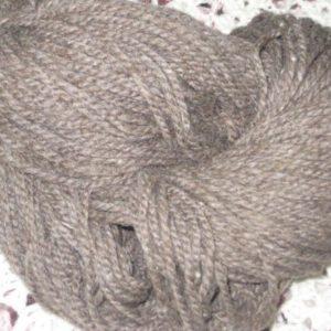 Merino 12/ ply Hand Knitting Yarn light Grey 200g