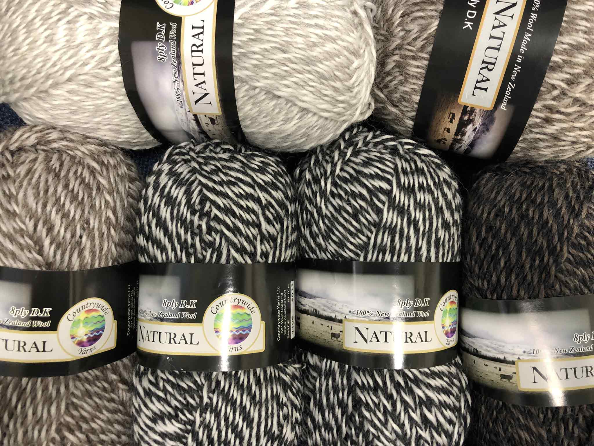 Countrywide yarns Natural 14ply
