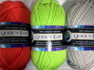 Countrywide Quick 'N' Easy yarn solid colour