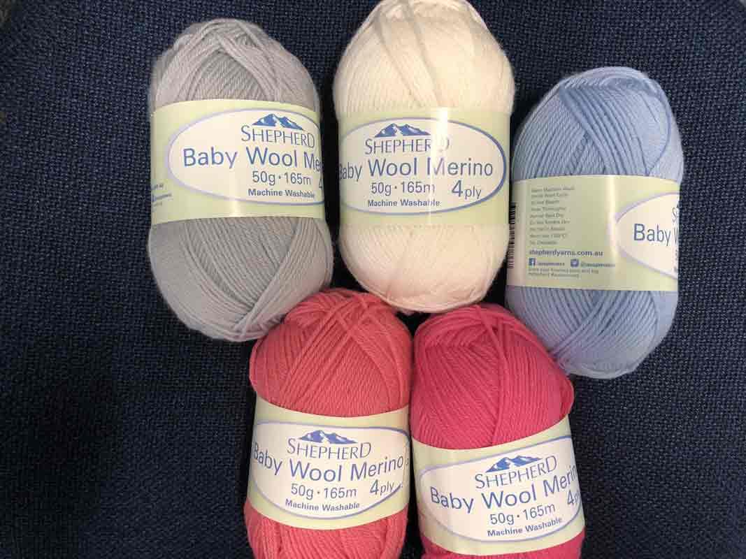 Shepherd Baby wool Merino 4ply