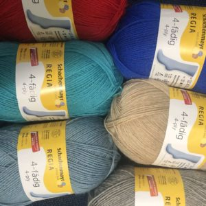 Schachenmayr Regia Sock Yarns 4ply Solid Colour