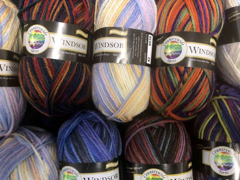 Countrywide Windsor 8ply Prints Multi colour