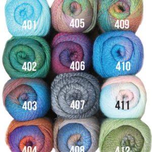Mandala Knitting yarn colour range - Shop Online