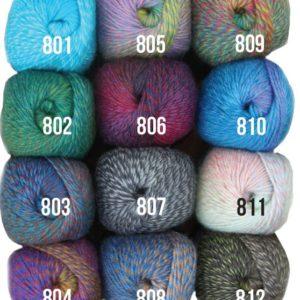 Mandala 8 Ply knitting yarn colour range - Shop online